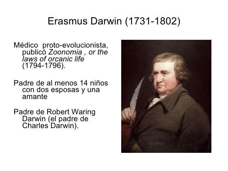 Erasmus Darwin y su teoria