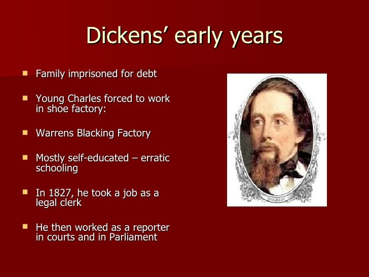 the life and career of charles dickens Life c dickens (1812-1870) came from a lower middle-class family he began his career as a journalist but, after the success of his first novel he devoted himself.