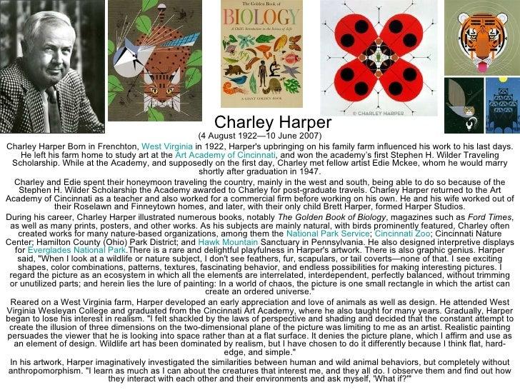 Charley Harper                                                      (4 August 1922—10 June 2007)Charley Harper Born in Fre...