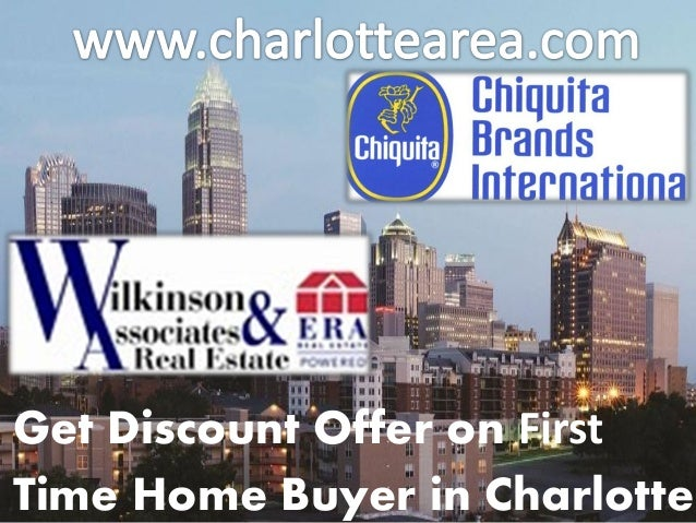 Get Discount Offer on First Time Home Buyer in Charlotte