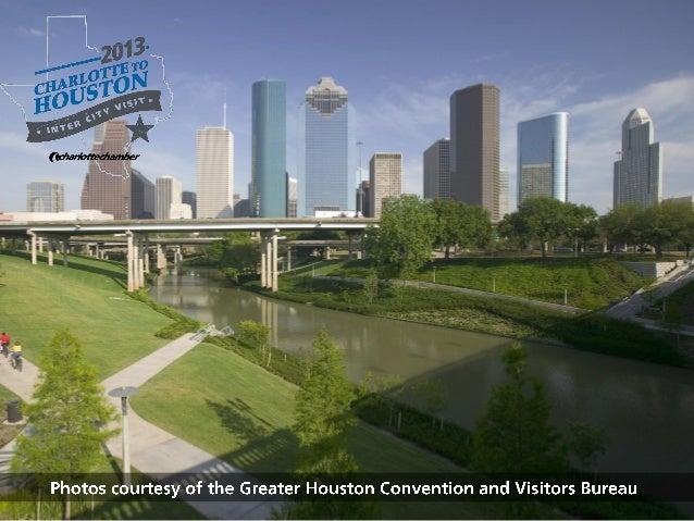 Charlotte Chamber Inter City Visit 2013 - Houston Photo Tour