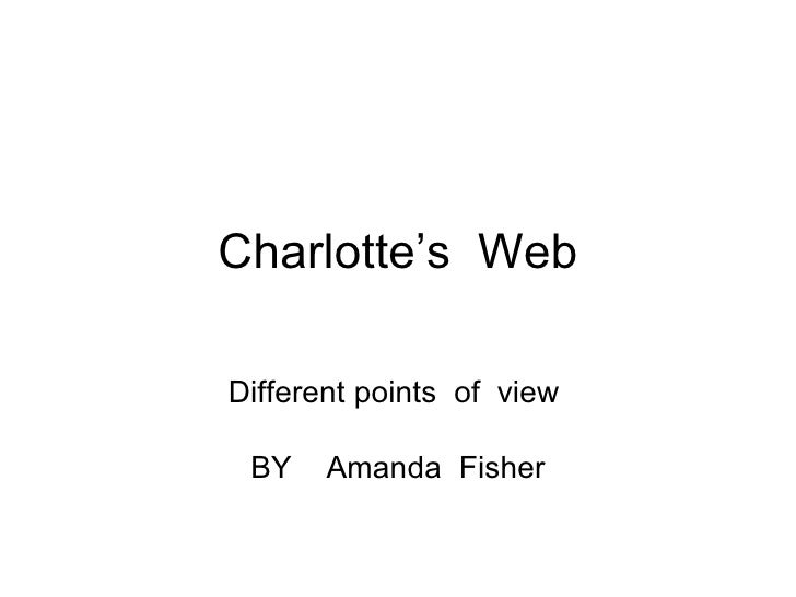 Charlotte's  Web Different points  of  view  BY  Amanda  Fisher