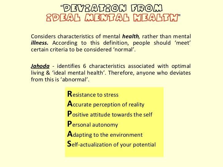 Abnormality Essay Psychology
