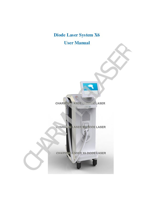 Charming diode laser system x6 manual