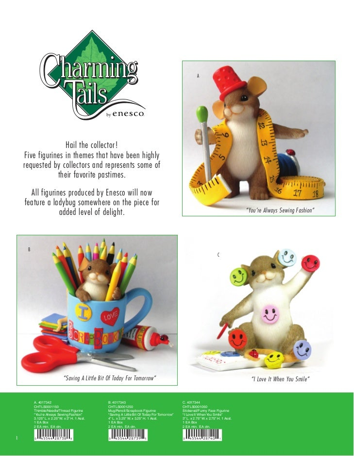 A                        Hail the collector!     Five figurines in themes that have been highly     requested by collector...