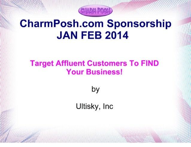 Charmposh.com Sponsorship Proposal