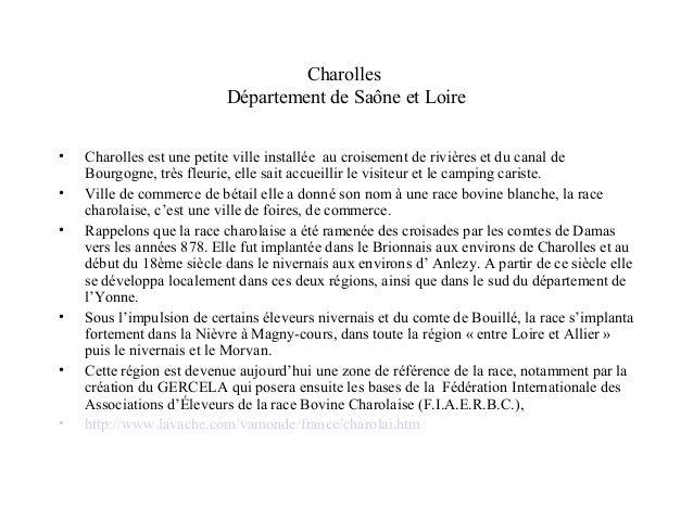 Charolles  Département de Saône et Loire  • Charolles est une petite ville installée au croisement de rivières et du canal...