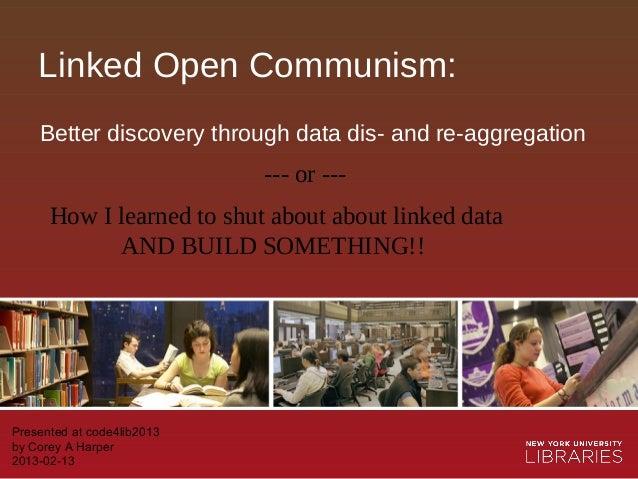 Linked Open Communism - c4l13