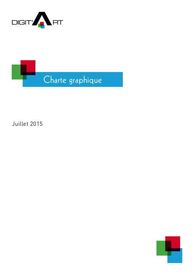 Charte graphique Juillet 2015