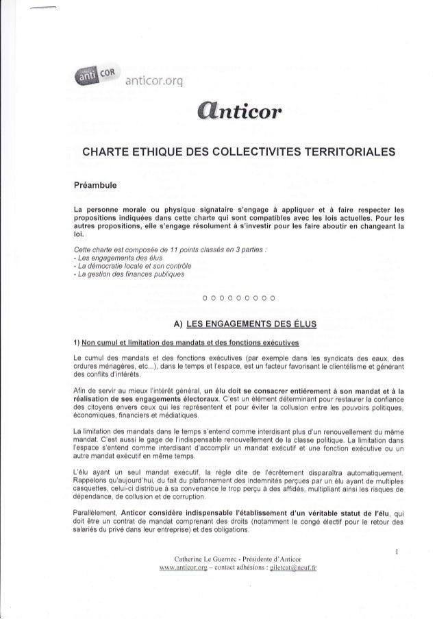 SnTl{-r}{ ,{:}t(?                                          flnüeor   CHARTE ETHIQUE DES COLLECTIVITES TERRITORIALESPréambu...