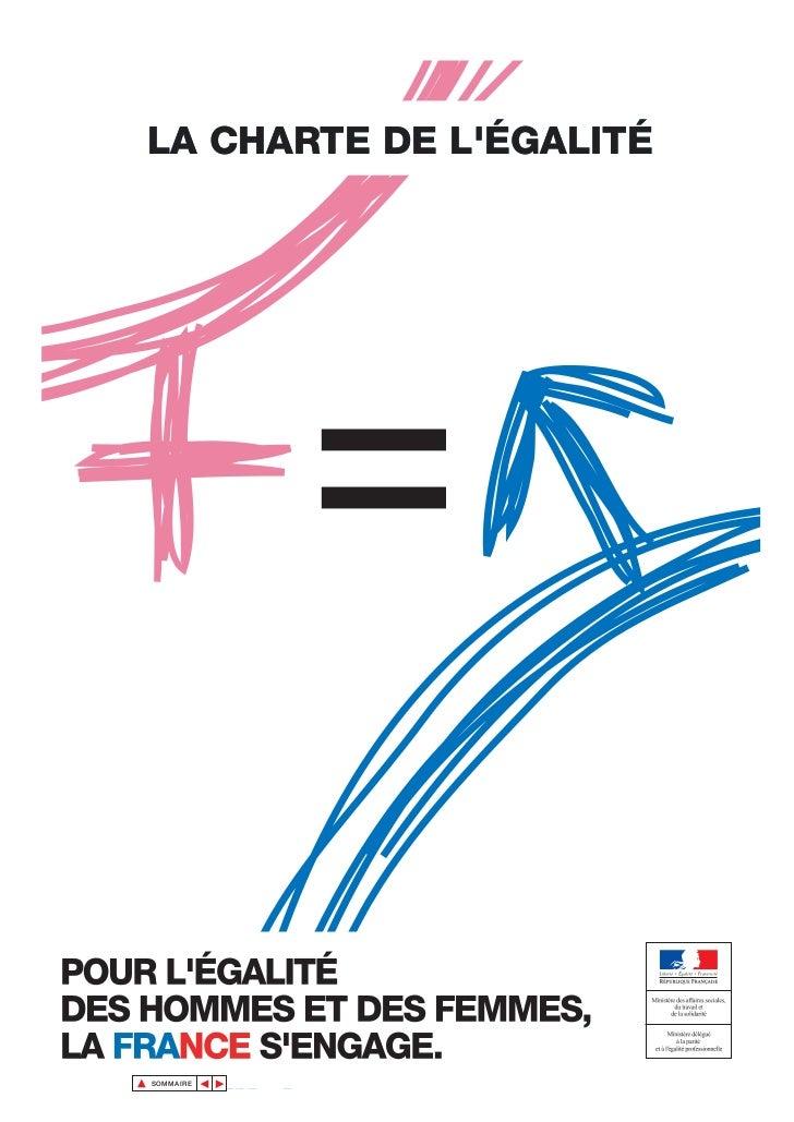 Charte de l'égalité