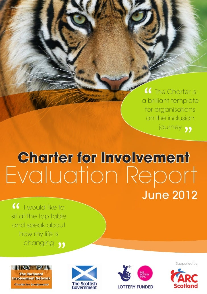 Charter for Involvement Evaluation Report  June 2012