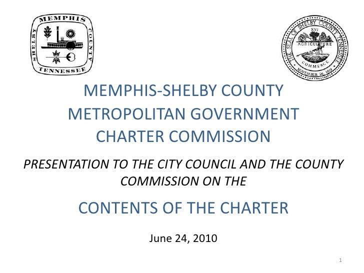 Charter commission charterpresent