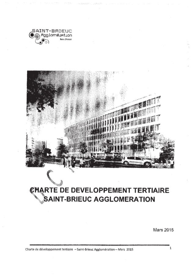 Projet Charte tertiaire