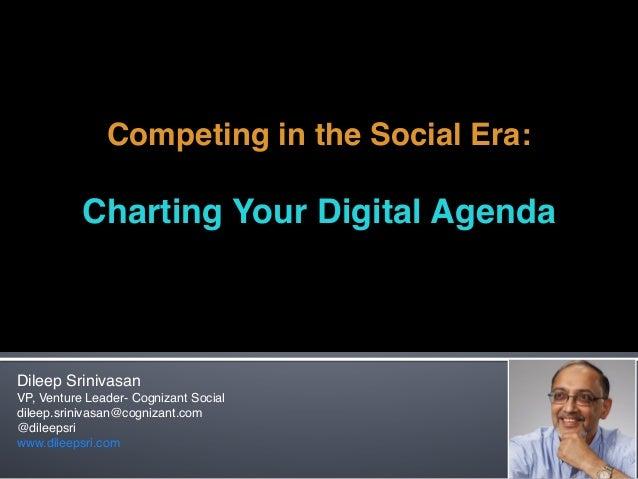 Charting your digital agenda