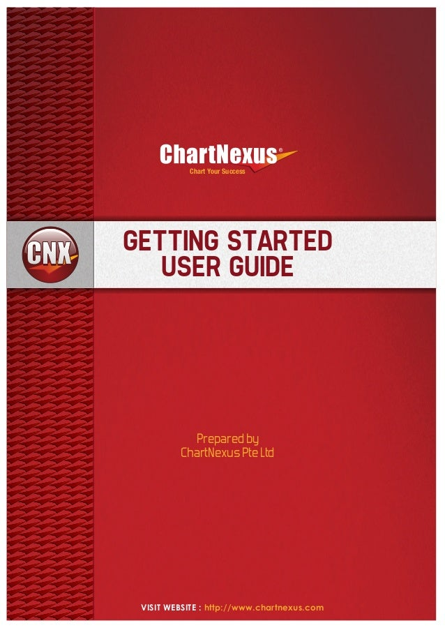 Chart Your Success  GETTING STARTED USER GUIDE  Prepared by ChartNexus Pte Ltd  VISIT WEBSITE : http://www.chartnexus.com