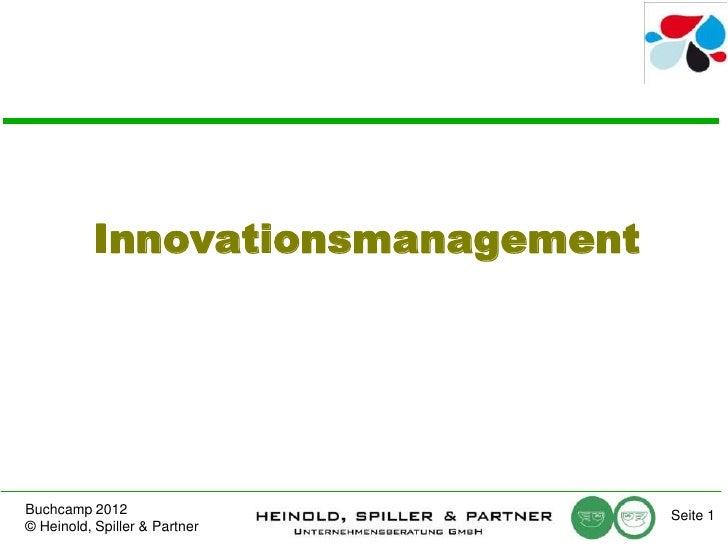 Ehrhardt Heinold: Volontäre, Studentenprojekte, Business Development oder reiner Zufall: Wo kommen die Innovationen her?