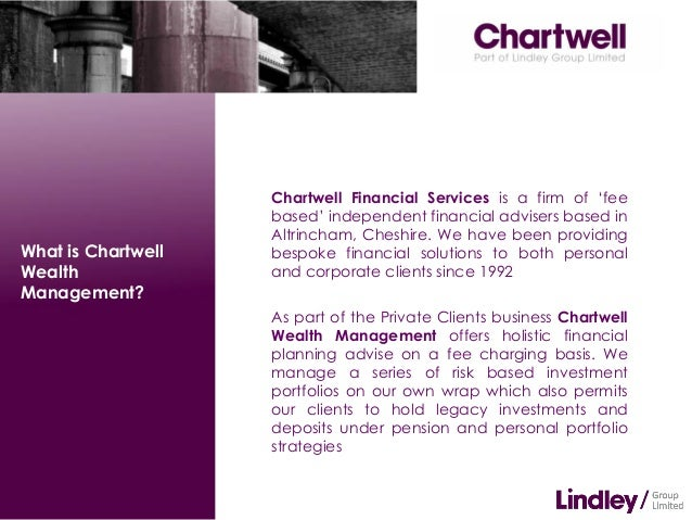 Chartwell    What is Wealth Management? update april 2013