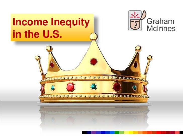 Chasm of Income Inequity in the U.S.<br />