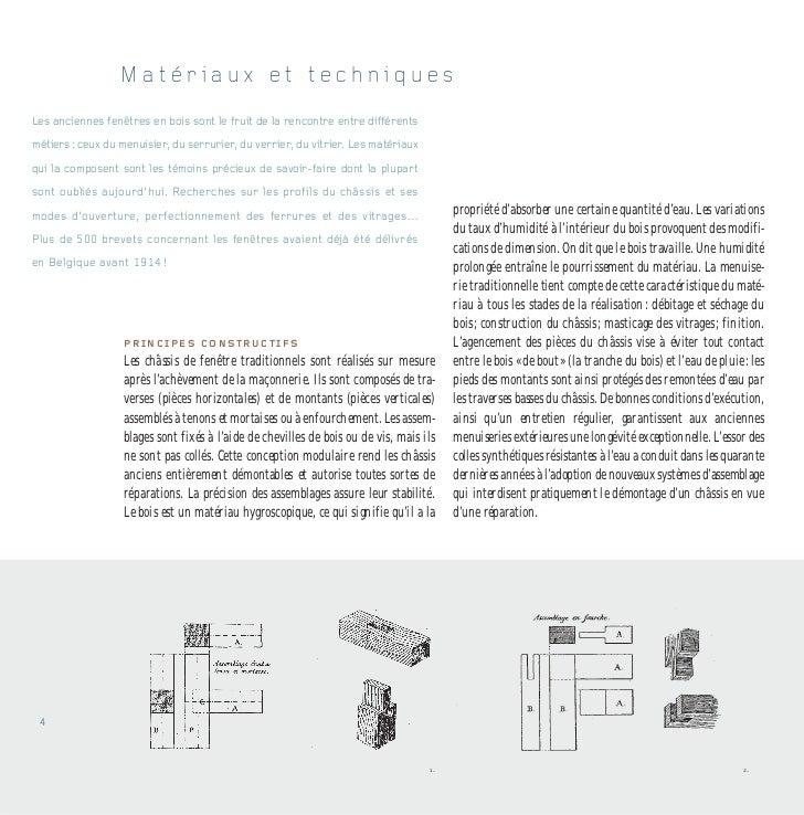 Le ch ssis de fen tre en bois concilier patrimoine et confort for Fenetre vocabulaire technique