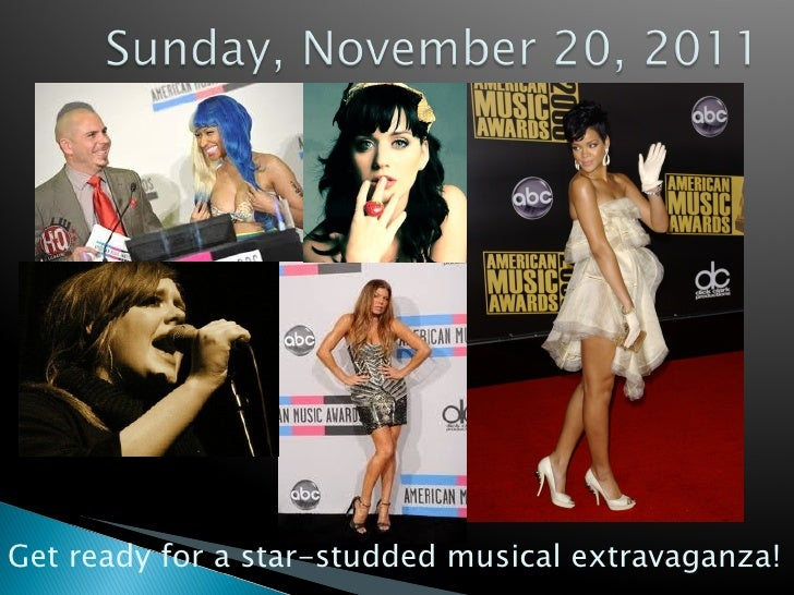 Chat LIVE About the 2011 American Music Awards @ Chatch TV