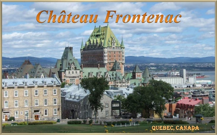 The Canadian Pacific Railway (CPR) built several 'grand hotels' across the country invarying 'chateau' styles: the Château...