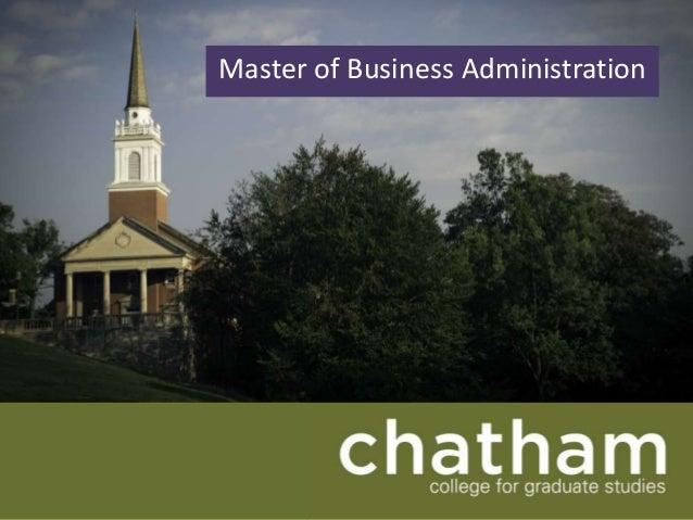 Chatham mba open house (10 5 2013 rc)