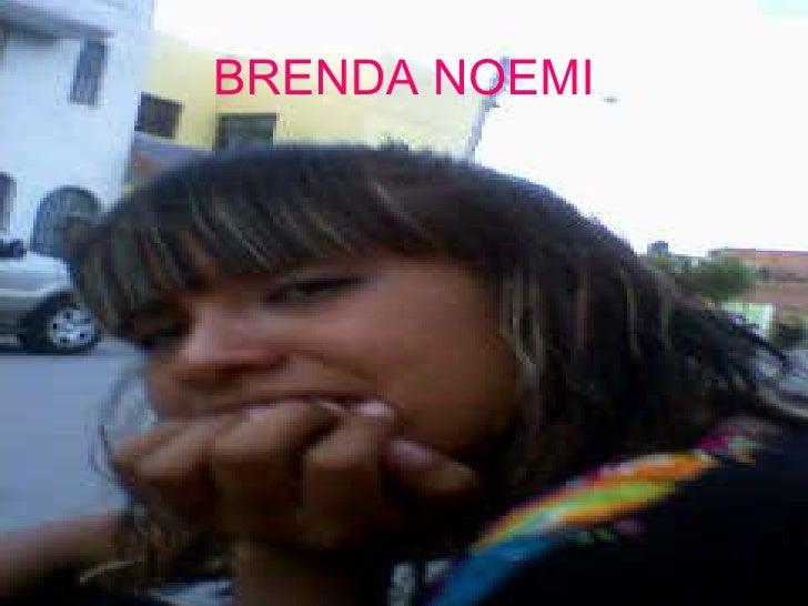 BRENDA NOEMI