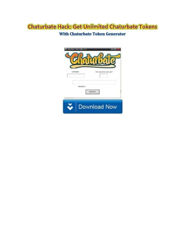 Free Chaturbate Tokens NEW WORKING NO DOWNLOADS