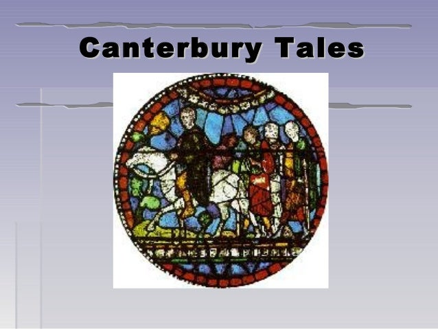 Chaucer and canterbury f 2009