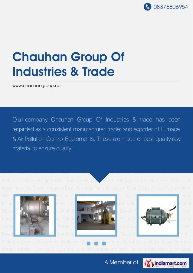 Rotary Furnace by Chauhan group-of-industries-trade