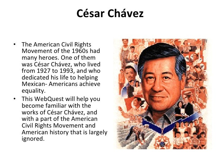 achievements of cesar chavez and martin luther king essay Martin luther king jr and cesar e chavez: achievement and preparation for college martin luther king jr papers project at stanford university.
