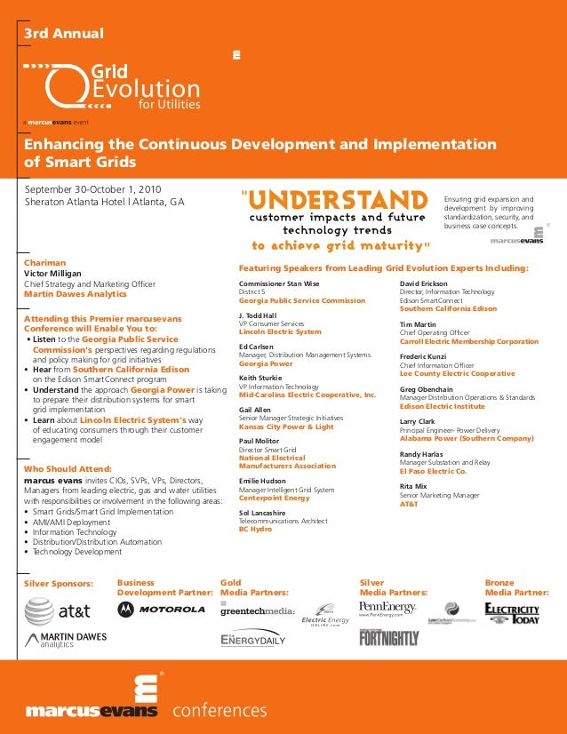 3rd Annual Grid Evolution for Utilities Final Agenda