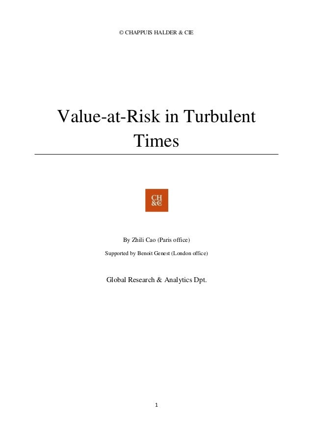 value at risk research paper Value at risk models in finance new york university stern school of business research paper series recommended papers value-at-risk.