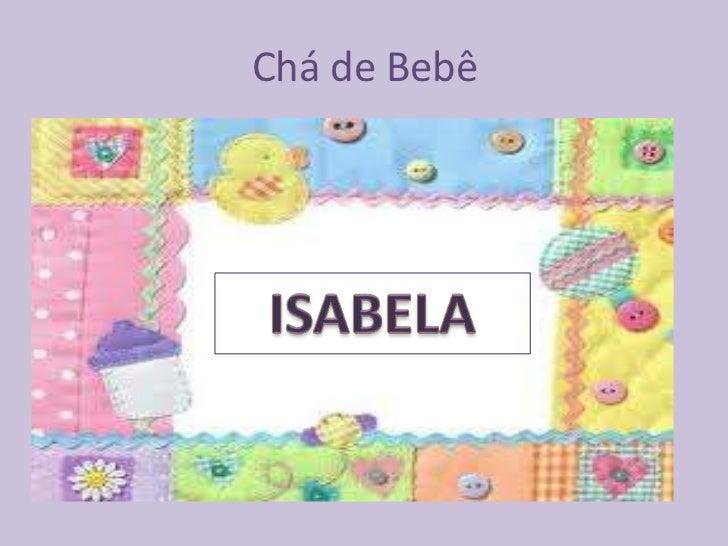 Chá de fraldas da Isabela