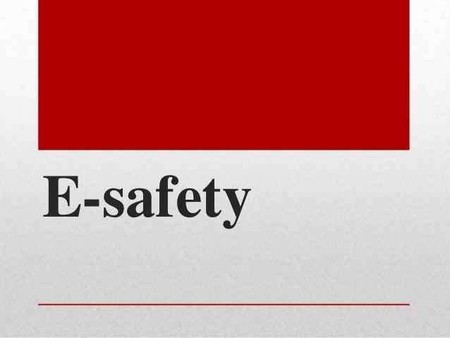 CH e-safety presentation