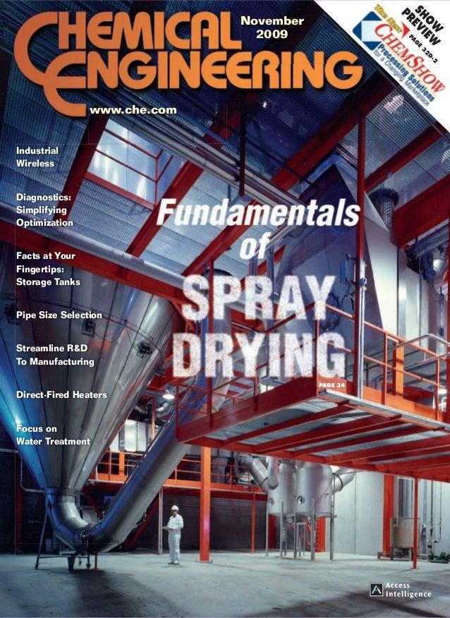 Fundamentals of spray drying