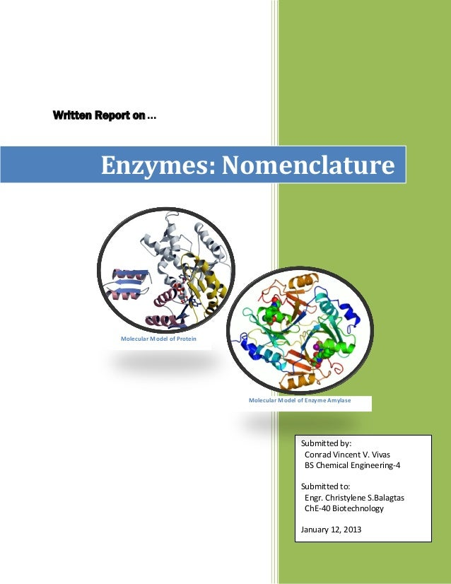 Che 40 enzymes and nomenclature