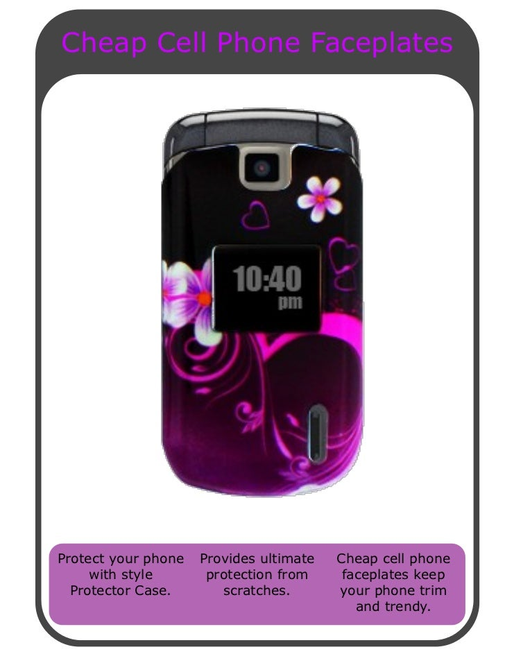 Cheap Cell Phone Faceplates