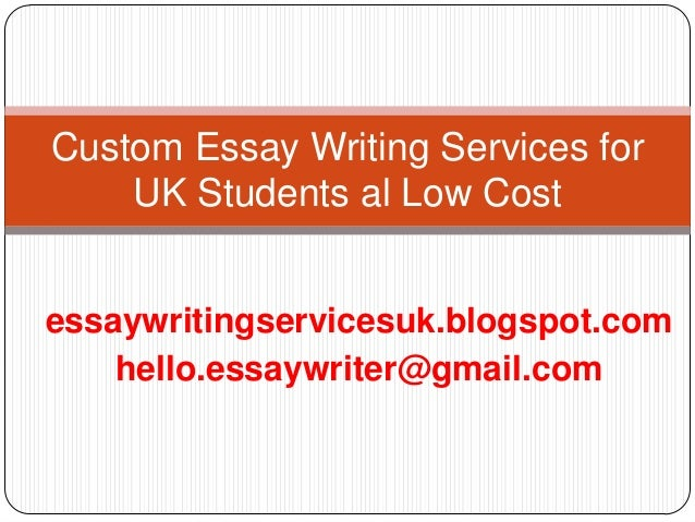 Writing services for students