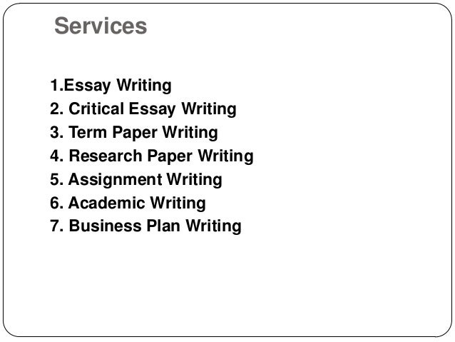 Academic Essay Writing Services - Essay Writing Service UK