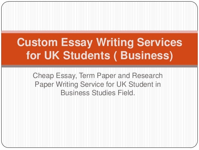 Professional research and writing service