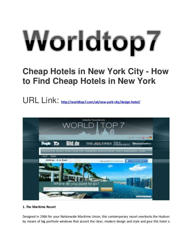 Cheap hotels in new york city how to find cheap hotels for Cheap hotels in