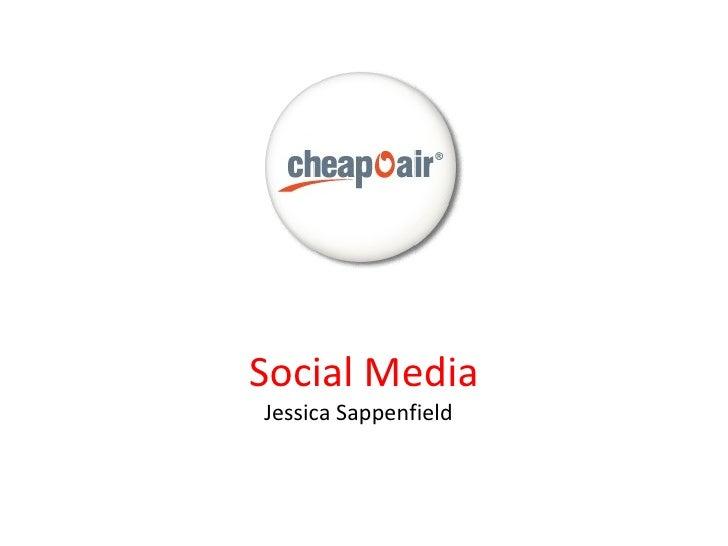 CheapOAir Social Media Presentation