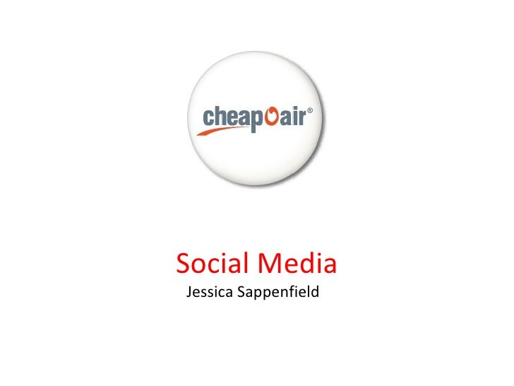 CheapOAir Social Media Presentation