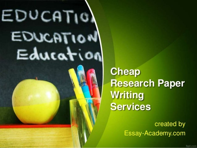 Cheap term paper writing service