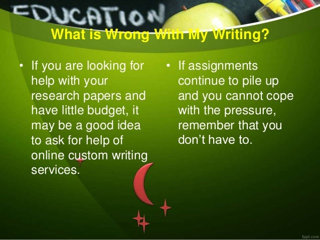 Help to write an essay college