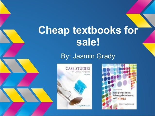 Cheap textbooks for sale!