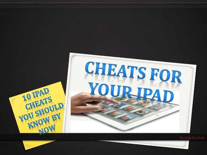 By: Cash For iPads