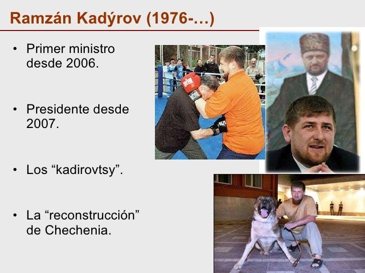 Resultado de imagen de chechenia Ramzan Kadyrov